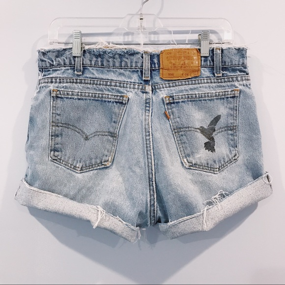 b7915f8a5d Levi's Shorts | Levis Orange Tab High Waisted Cutoff | Poshmark
